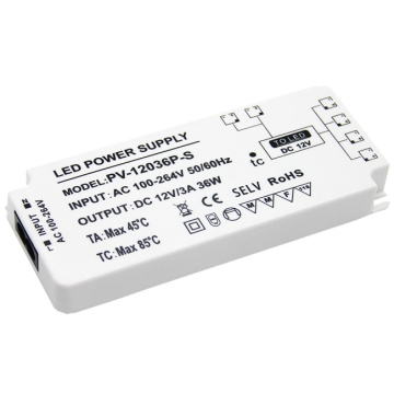 Wholesale Power Supply 12V Led Driver 36W High Efficiency power supply for   indoor cabinet light