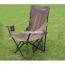 Cadeiras dobráveis acampando da praia por atacado, cadeiras dobráveis do único lazer