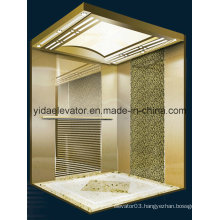 Passenger Elevator with Mirror Etched Stainless Steel (JQ-B025)