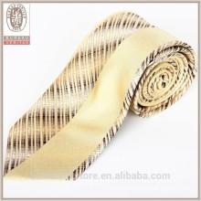 Оптовый высокомарочный конструктор выполненный на заказ сплетенный шелковый галстук