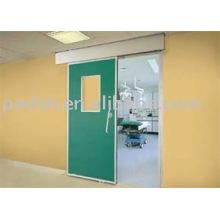 Puerta corredera automática de rayos X