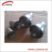 Acero inoxidable 304 Reductor de soldadura concéntrica para tuberías sanitarias