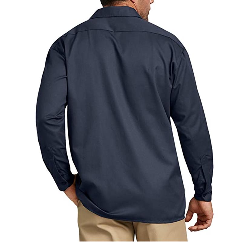 Men S Long Sleeve Work Shirt1