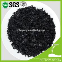 production professionnelle de charbon de bois de noix de coco 8x30 traitement de l'eau
