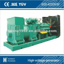 Generadores diesel de alta tensión 10.5kV