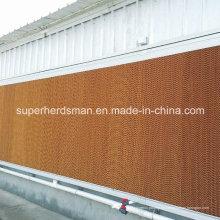 Almohadillas de enfriamiento evaporativo de alta calidad para la granja de aves de corral