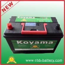 95D31rmf (12V80Ah) Корейский дизайн Обслуживание Бесплатная автомобильная батарея