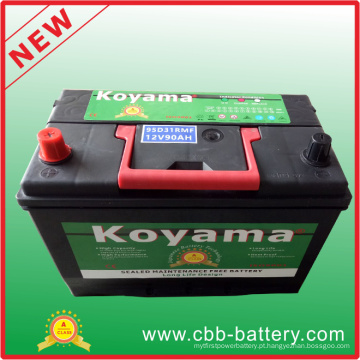 95D31rmf (12V80Ah) Korea Design Maintenance Free Car Battery