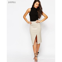 Damen Büro Arbeit Split Pencil Skirt