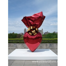 Large Size Colored Stainless steel Candy Statue