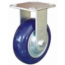 Heavy Duty Fixed Enduranced Nylon Castor (Blue)