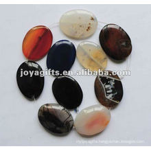 40*30*8MM Agate Oval Beads
