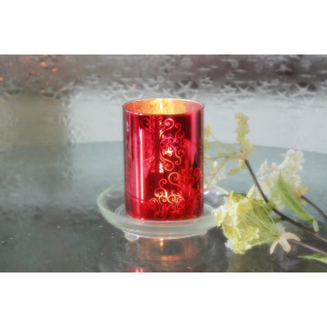 Glass Candle Holder Votive for Home Decoration