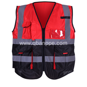 high visibility complex style reflective vest