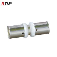 L 17 4 13 accesorios de tubería pex al por mayor accesorios de latón a presión para tubería de pex-al-pex ajuste a presión de latón