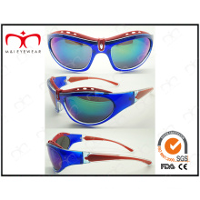 Lunettes de soleil de conception spéciale et de sport coloré brillant (LX9850)