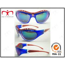 Специальный дизайн и блестящие цветные спортивные солнцезащитные очки (LX9850)