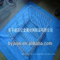 Metal basket used for kitchen