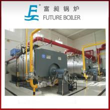 Wns Caldera de vapor horizontal de 3 pasos con aceite horizontal / gas