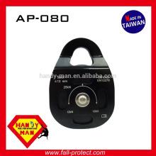 AP080 Esportes ao ar livre Ginásio Escalada Rolante de rolo lateral móvel de alumínio roda única roda 13 mm polia