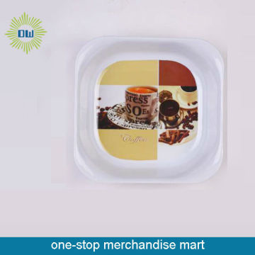 cheap plastic serving plate