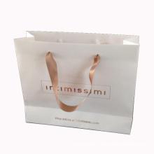 Saco de compras de papel personalizado para compras e embalagem