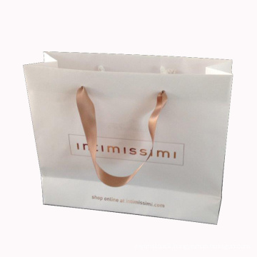Customized Paper Shopping Bag for Shopping and Packing