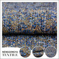Oem service Different kinds of fashionable stretch poly slub fabric