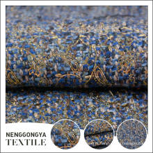 Oem serviço Diferentes tipos de moda esticar tecido poli slub