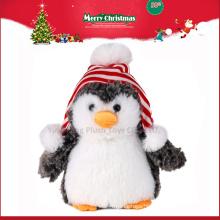 Christmas novelty product stuffed penguin toy