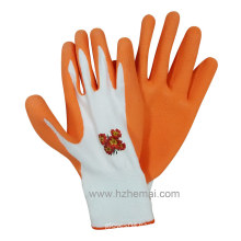 Colorful Foam Latex Gardening Gloves Work Glove