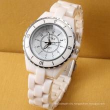 Customer Design Quartz Movement Plastic Girl Watch