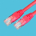 Cat5e Patch Cord UTP Red LSOH