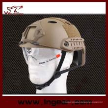 Equipamiento Pj casco contra casco militar con visera clara