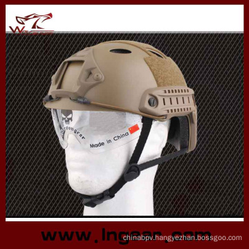 Tactical Equipment Pj Helmet Combat Military Helmet with Clear Visor
