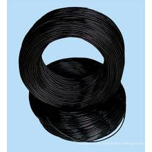 Black Wire / Black Hard Drawn Nail Wire Stahl Draht für Nails Making