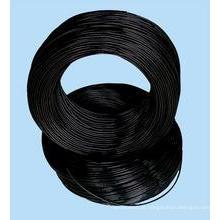 Fio preto / fio de arame preto para arame de arame duro preto para fabricação de unhas