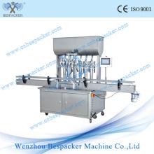 Machine de remplissage liquide à emballage automatique à haute efficacité