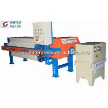 Presse-filtre automatique en plastique série 1000