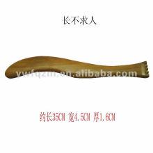 деревянный массажер для спины/скребок