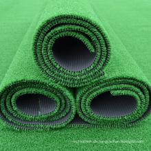 Künstliches Teppichgras des künstlichen Teppichs des Fußballplatzes künstliches Gras
