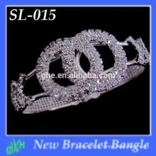 Yiwu neue Art und Weisearmband shine späteste Gold Chunky Armbandarmbandentwürfe