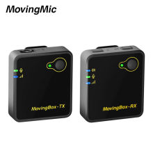 New Design 2 Channels 2.4 Wireless Microphone For Youtube Interview