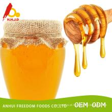 Mel de coco de abelha cru em massa