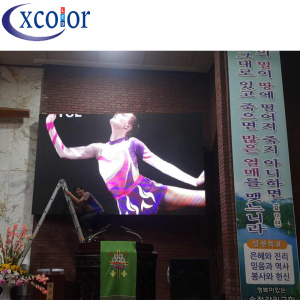 High Quality P3.91 Indoor Church Led Display Wall