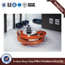 Solid Wood Office Table Designs Executive Office Furniture (HX-6D099)