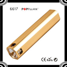 6617 Высокое качество 2600mAh Портативный мини Multi-Fonction светодиодный фонарик свет Банк