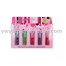 mini lip gloss make up set