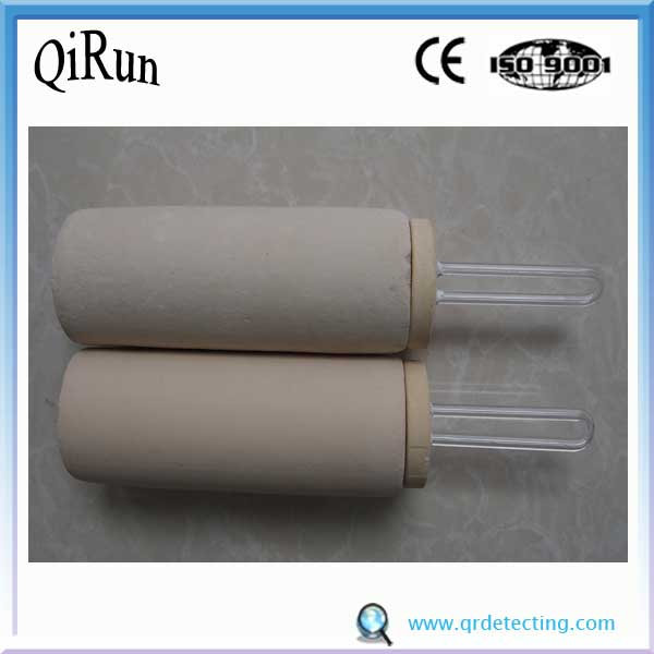 Ceramic Anti Splash Expendable Disposable Thermocouple
