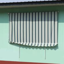 Auvents rétractables de balcon imperméables